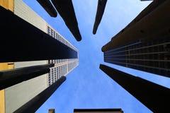 Céu e construção Foto de Stock Royalty Free