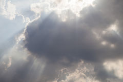 céu e feixe Foto de Stock Royalty Free