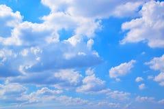 Céu e fundo 171019 0192 das nuvens do branco Imagens de Stock Royalty Free