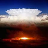 Céu e inferno Fotos de Stock Royalty Free