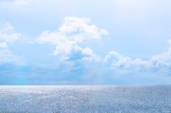 Céu e mar Imagens de Stock Royalty Free