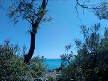 Céu e mar Fotos de Stock