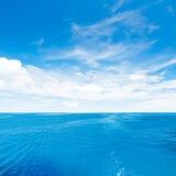 Céu e mar Foto de Stock