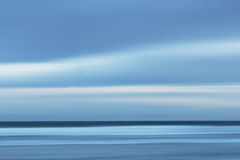 Céu e mar da filtração Fotografia de Stock Royalty Free
