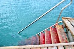 Céu e mesa do mar Imagem de Stock