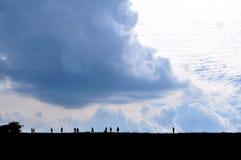 Céu e montanha Fotografia de Stock Royalty Free