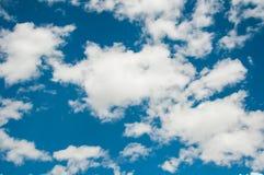 Céu e nuvem Fotos de Stock