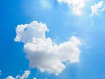 Céu e nuvem Imagens de Stock Royalty Free