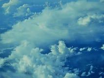 Céu e nuvem Fotografia de Stock