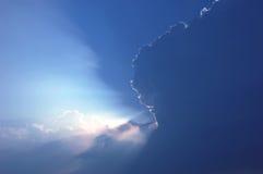 Céu e nuvens Fotos de Stock