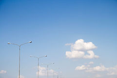 Céu e nuvens. Imagens de Stock Royalty Free