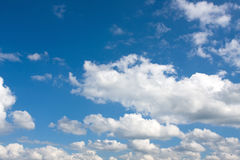 Céu e nuvens Imagens de Stock
