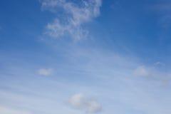 Céu e nuvens imagens de stock royalty free