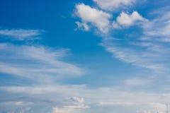 Céu e nuvens Foto de Stock Royalty Free