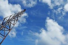 Céu e nuvens de Derrick Pile imagem de stock