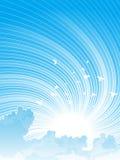 Céu e nuvens dinâmicos Fotografia de Stock Royalty Free