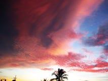 Céu e nuvens em Tailândia Fotos de Stock Royalty Free