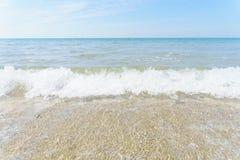 céu e o mar Fotos de Stock Royalty Free