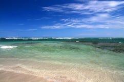 Céu e oceano Foto de Stock