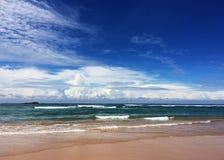 Céu e oceano Fotografia de Stock Royalty Free