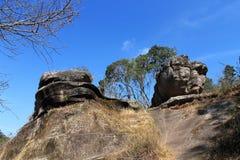 Céu e pedra Fotos de Stock Royalty Free