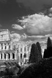 Céu e ruínas Foto de Stock