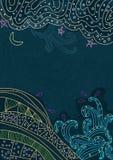 Céu e terra abstratos Imagem de Stock Royalty Free