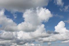 Céu em Rússia ocidental Fotografia de Stock