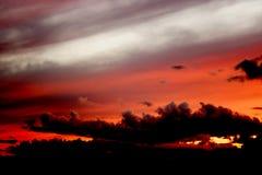 Céu escuro Fotos de Stock