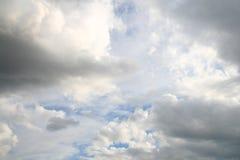 Céu escuro Foto de Stock