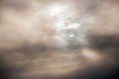 Céu escuro antes da chuva Imagem de Stock