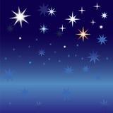 Céu estrelado Imagens de Stock Royalty Free