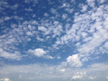Céu, fundo do céu Fotos de Stock Royalty Free