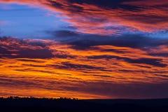 Céu impetuoso Imagem de Stock Royalty Free