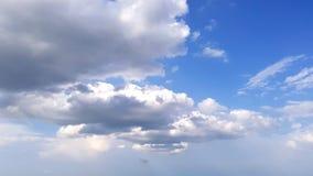 Céu italiano ensolarado nebuloso Foto de Stock
