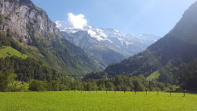 Céu limpo de Suíça Fotos de Stock Royalty Free