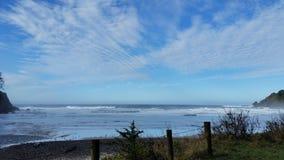 Céu litoral Fotos de Stock Royalty Free