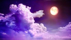 Céu mágico video estoque