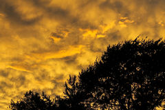 Céu mágico de Virgínia Imagens de Stock Royalty Free