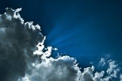 Céu místico Foto de Stock