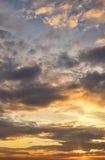 Céu majestoso da nuvem Imagens de Stock