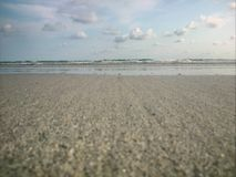 Céu & mar Fotografia de Stock