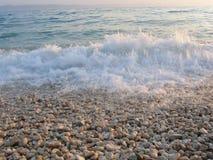 Céu, mar e areia 02 Fotografia de Stock Royalty Free