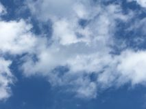 Céu movente sonhador e macio sobre Hertfordshire Fotos de Stock Royalty Free