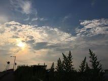 Céu muito bonito Imagem de Stock