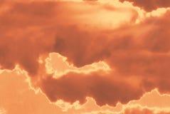 Céu mystical vermelho Foto de Stock