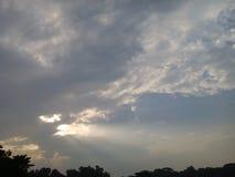 céu mystry imagens de stock