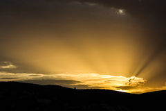 Céu na terra Imagem de Stock