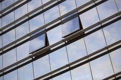 Céu nas janelas Foto de Stock