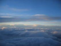 Céu nebuloso Foto de Stock Royalty Free